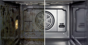 oven cleaning before  bearsden glasgow oven cleaners