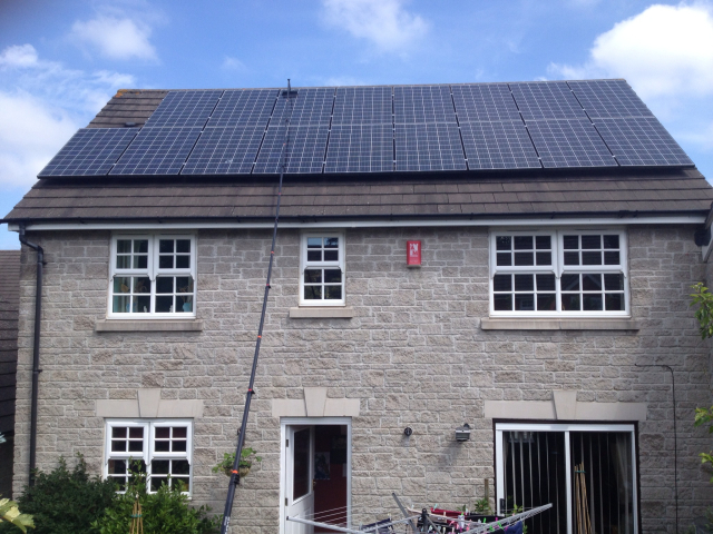 Solar Panel Cleaning Glasgow